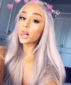 """206 Likes, 10 Comments - Ariana Grande (@mymoonlightsgrande) on Instagram: """"Hey,did anyone have seen my Wig? #arianagrande @arianagrande"""""""