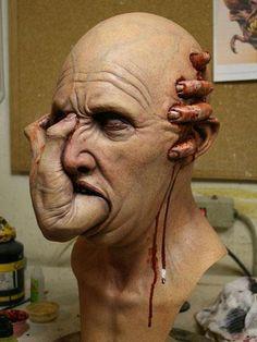 Arte Horror, Horror Art, Avatar Picture, Fallout Art, Design Tattoo, Creepy Art, Sculpture, Zbrush, Dark Art