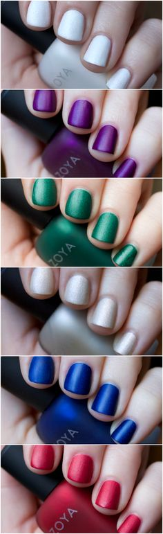 Zoya Winter/ Holiday 2015 MatteVelvet Collection