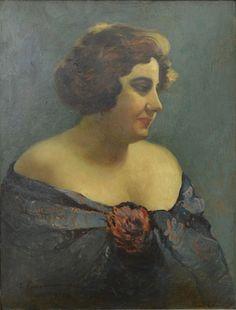 Portrait of Actress Aura Fotino, 1927 Ion Tuculescu Contemporary History, Post Impressionism, Biologist, Art Database, Female Art, Art Boards, Art History, My Arts, Actresses