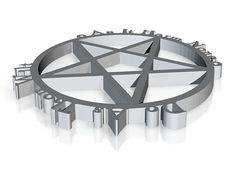 Pentagram With Rede Series One by geekspeeker