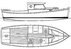 Redwing 26 - Pilothouse Power Cruiser | Chesapeake Marine Design