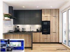 Interior design kitchen italian and interior design kitchen advice Best Kitchen Designs, Modern Kitchen Design, Interior Design Kitchen, Kitchen Decor, Kitchen Modular, Mid Century Modern Kitchen, Design Moderne, Kitchenette, Bars For Home