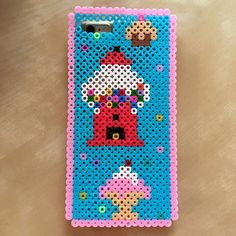 Sweet phone case hama beads by cuchipu