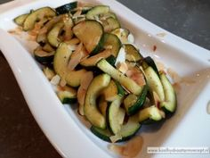 Citroen courgette Low Carb Recipes, Healthy Recipes, Healthy Food, Intermittent Fasting, Zucchini, Keto, Lunch, Vegetables, December