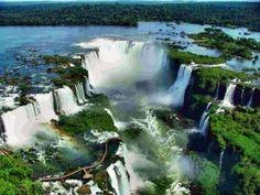 Cataratas del Iguazú. Paisajes más impresionantes del planeta
