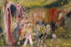Jack Butler Yeats (Irish, They Come (They Come), Oil on canvas, 24 x 36 in. Irish Painters, Jack B, William Butler Yeats, William Hogarth, Irish Art, Oil On Canvas, Drawings, Illustration, Samuel Beckett