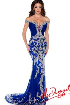 81891P | Mac Duggal Pageant Gown ( my dream gown )