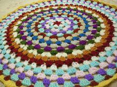 crochet mandala, crochet doily