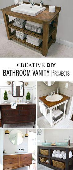 Bathroom Vanity Projects