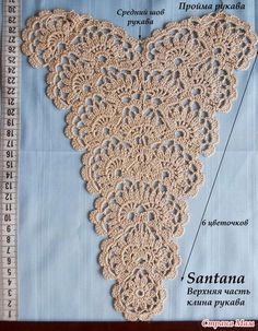 Jacket of the big size from tape lace is edited) - the Country of Mothers // Ирина Решетняк Crochet Motif Patterns, Crochet Diagram, Freeform Crochet, Irish Crochet, Crochet Shawl, Crochet Stitches, Knit Crochet, Crochet Borders, Crochet Lace Collar