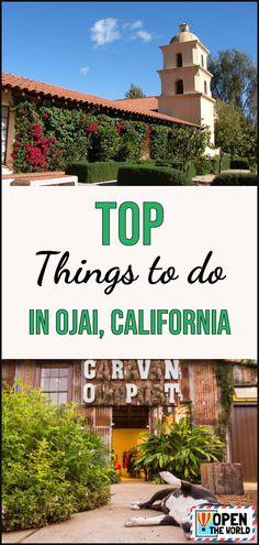 California Travel Guide, Ojai California, Arizona Travel, Oregon Travel, Usa Travel Map, Usa Travel Guide, Travel Guides, Travel Tips, Travel Destinations