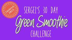 Green Smoothie Challenge (update 2015) #greensmoothiechallenge, #greensmoothie, #healthy, #newyearsresolution, #greens, #green, #greendrink.