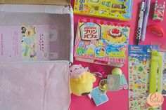 November 2016 Kawaii Box - Japanese items subscription box unboxing and giveaway