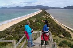 Bruny Island - took a pic just like this.