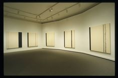 Barnett Newman | The Stations of the Cross 1958-1966 Series of 14 roughly human sized paintings Oil on canvas 8 years to complete