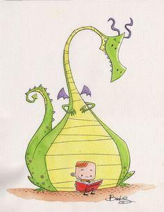 Dragon Illustration, Children's Book Illustration, Fantasy Character, Character Design, Dragon Nursery, Baby Clip Art, Cute Dragons, Illustrations, Dragon Art