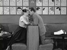 """Lucy & William Holden in my favorite I Love Lucy episode; """"Hollywood At Last"""", (1955)."""