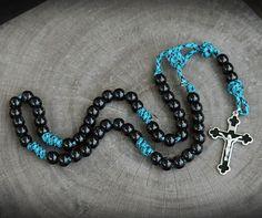 z- Custom Turquoise Rosary for Karen B