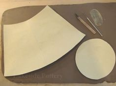 How to Make a Clay Slab Tall Vase? Clay Vase Handbuilt Construction Lesson