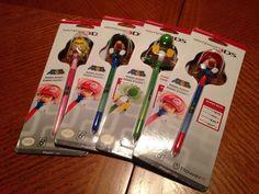 Lot of 4 Nintendo 3DS Bobblehead Stylus Brand New | eBay