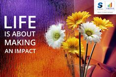 #SalarpuriaSattva #SattvaGroup #Thoughtfortheday  Life is about making an impact.