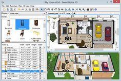 برنامج تصميم المنازل Sweet Home 3D 5.2 Final + Portable - التطبيقات الهندسية