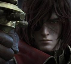 From Captain Harlock Space Pirate Space Pirate Captain Harlock, Captain Harlock Movie, Science Fiction, Motion Capture, Hayao Miyazaki, Fire Emblem, Good Movies, Master Chief, Evolution