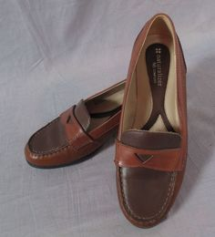 b34133025e0 Women s Naturalizer N5 Comfort Boat Shoes Brown Size 8 W Leather Low   Naturalizer  BoatShoes