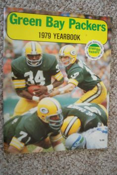VINTAGE GREEN BAY PACKERS 1979 YEARBOOK EXCELLENT CONDITION