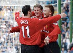 Giggs, Solskjaer & Beckham