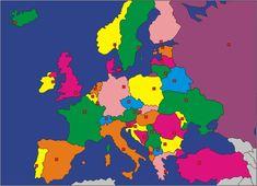Európa fővárosai Flag, Logos, Country, Art, Art Background, Rural Area, Logo, Kunst, Science
