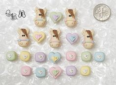 Pastel Ponies *Giggle* Beads by gigglejelly, via Flickr