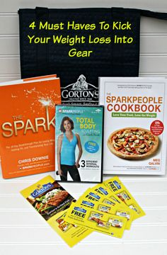 4 Must Haves To Kick Your Weight Loss Into Gear + a Gorton's Giveaway // Makobi Scribe