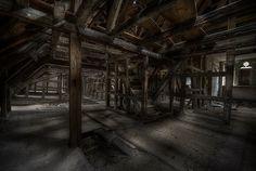 abandoned monastery attic ::