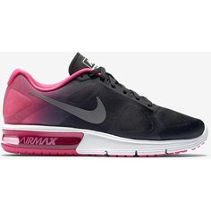 Nike Air Max Sequent Women's Running Shoe. Nike.com (140 CAD) ❤ liked on Polyvore featuring shoes, athletic shoes, nike, running shoes, nike footwear, nike athletic shoes and nike shoes