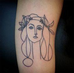 Picasso/ Matisse Tattoos