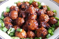 Meatballs with Sauerkraut and Cranberry Sauce! Totally yummy!!