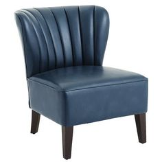 Emille Channel Back Chair - Deep Teal Pier 1 Imports $254.95 (on sale) plus $40 S&H item #2702184