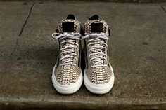 Android Homme - Snake skin high tops  #sneakerxchange