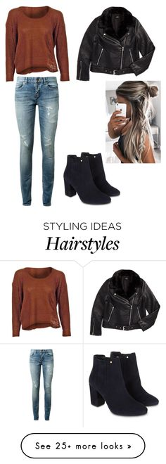 """""""Untitled #485"""" by dream3lov3 on Polyvore featuring Yves Saint Laurent, Topshop and Monsoon"""