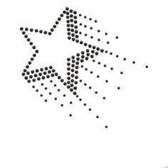 Étoile en strass