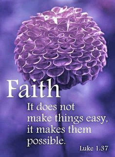 Faith. . .Like 1:37