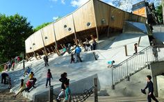 World's Coolest Playgrounds: Belleville Park, Paris