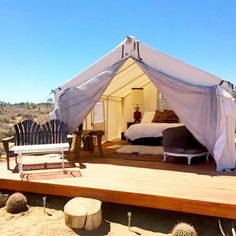 Lazy Sky In Yucca Valley, CA - The Best Glamping Spots On Airbnb - Photos