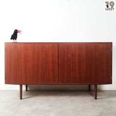 Superb Sold to Berlin a teak sideboard by Carlo Jensen for Hundevad West