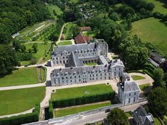 Abbaye Saint-Wandrille de Fontenelle à Saint-Wandrille-Rançon (Seine-Maritime-FR)