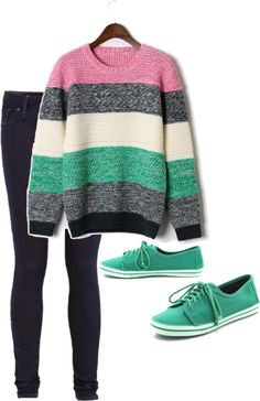 """""""cute but casual"""" by alatexas on Polyvore"""