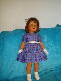 Belle et rare poupée Monique en celluloide par SNF 50CM | Jouets et jeux, Poupées, vêtements, access., Poupées anciennes | eBay!