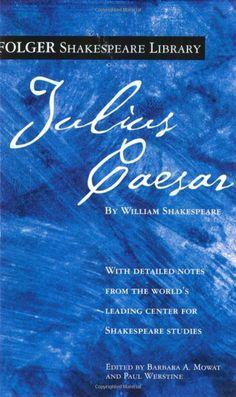 Julius Caesar (Folger Shakespeare Library): William Shakespeare: 9780743482745: Amazon.com: Books